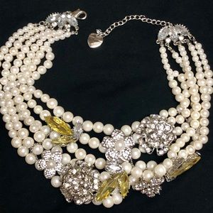 Betsey Johnson Jewelry - Betsey Johnson Rare Vintage Statement Necklace